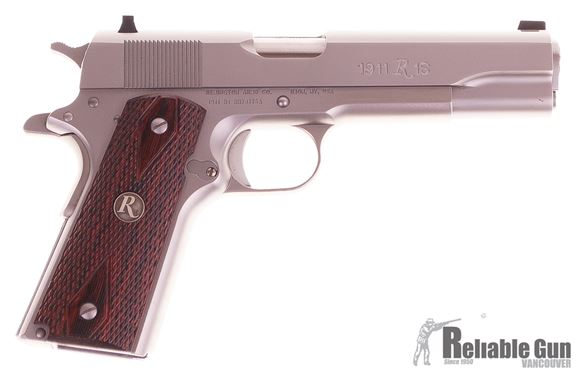 Picture of Used Remington R1S, 45ACP, Stainless, 4 Magazines, Safari Aluminum Locking Case, Very Good Condition.