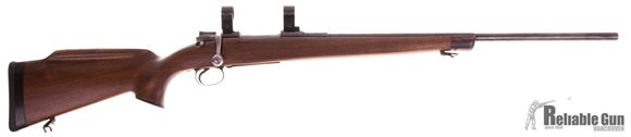 Picture of Used Carl Gustaf Mauser 96 Bolt-Action 6.5x55 Swedish, Sporterized, With Custom Stock & Timney Trigger, Weaver Rings, Good Condition