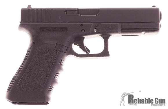 Picture of Used Glock 17 Gen 3 9mm Semi Auto Pistol, 2 x 10rd Mags, Original Kit, Excellent Condition