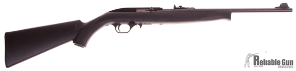 Picture of Used Mossberg 702 Plinkster, Semi Auto 22LR, Black Synthetic Stock, 18'' Barrel w/Sights, 1 Magazine, Good Condition