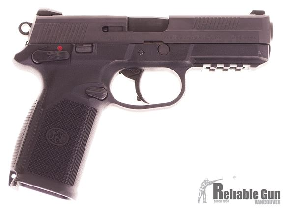 "Picture of Used FNH FNP Semi-Auto 45 ACP, 4.5"" Barrel, With 2 Mags & Hard Case, Very Good Condition"