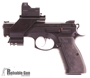Picture of Used CZ 75 SP-01 Shadow Mate - Fully CZ Gunsmith tuned w/ Vortex Razor HD Red Dot, 3 Mags, Original Box. Very Good condition