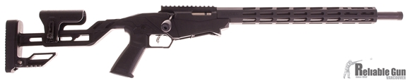 "Picture of Used Ruger Precision Rimfire Bolt Action Rifle - .22LR, 18"", Cold Hammer Forged 1137 Alloy Steel Heavy Barrel, 1/2""-28 Threaded, Matte Black, Molded One-Piece Chassis, 15"" Free Float Aluminum M-Lok Handguard, 1x10rds, Excellent Condition"