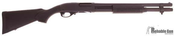 "Picture of Used Remington Model 870 Express Synthetic Pump Action Shotgun - 12Ga, 3"", 18-1/2"", Blasted Black Oxide, Matte Black Synthetic Stock, 7rds, Single Bead Sight, Fixed Cylinder, Good Condition"