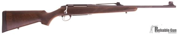 "Picture of Used Tikka T3X Battue Bolt Action Rifle - 30-06 Sprg, 20"", Blued, Matte Oiled Walnut Stock, TruGlo Fiber Optic Sights, 1 Magazine, Excellent Condition"
