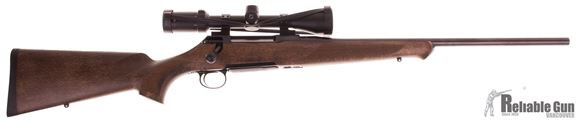 Picture of Used Sauer 100 Classic Bolt Action Rifle - 243win, Wood stock, Adjustable Single-Stage Trigger, 1 Magazine, Zeiss Terra 3-9x42 Scope, Talley Rings, Excellent Condition