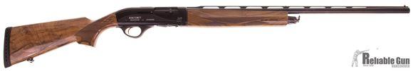 "Picture of Used Hatsan Escort Magnum Supreme, 20ga, 28"" Barrel , Mod Choke, Turkish Wallnut, Like New Condition."