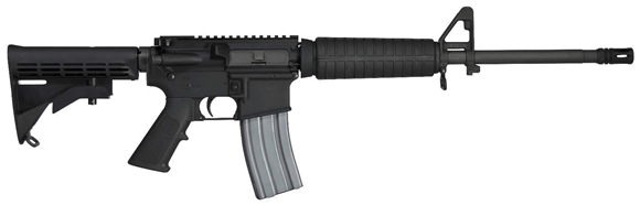"Picture of Colt Expanse M4 Semi-Auto Carbine - 5.56mm NATO, 16.1"", 1:7RH, 6 Groove, Non- Chrome Lined, Matte Black, Carbine Stock & Forend, 5rds, A1 Style Front Sight, No  Rear Sight,  W/ Dust Cover & Forward Assist"