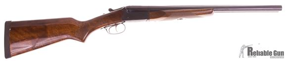 """Picture of Used Stoeger Industries IGA Coach Gun Deluxe Side-by-Side Shotgun- 12Ga, 3"""", 20"""", Blued, AA-Grade Gloss Walnut Stock, Brass Bead Front Sight, Double Trigger, (IC,M)"""