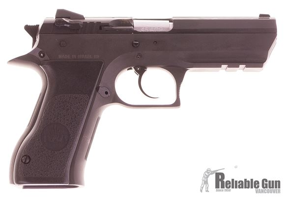 Picture of Used IWI Jericho 941 Semi-Auto 45 ACP, Steel Frame, With 2 Mags & Original Case, Excellent Condition