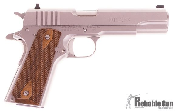 "Picture of Used Remington 1911 R1 Semi-Auto 45 ACP, 5"", Stainless, With 2 Mags & Original Case, Excellent Condition"