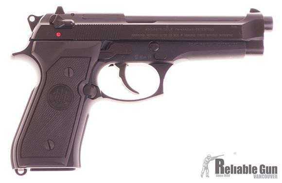 Picture of Used Beretta 92FS Semi-Auto 9mm, With 2 Holsters, 2 Mags & Original Case, Excellent Condition