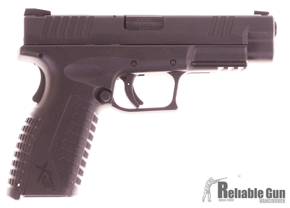 Picture of Used Springfield XDM-9 Semi-Auto 9mm, Range Kit With Holster & Mag Pouch, 2 Mags & Original Case, Very Good Condition