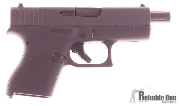 Picture of Used Glock 43 Semi-Auto 9mm, With Lone Wolf 106mm Barrel, 2 Mags With +2 Extensions & Original Box, Excellent Condition