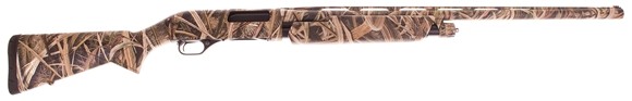 "Picture of Used Winchester SXP Waterfowl Realtree Max-5 Pump Action Shotgun - 12Ga, 3-1/2"", 28"", Vented Rib, Chrome Plated Chamber & Bore, Realtree Max-5 Camo, Aluminum Alloy Receiver, Synthetic Stock, 4rds, TruGlo Fiber Optic Front Sight, Invector-Plus Flush (F,M,"