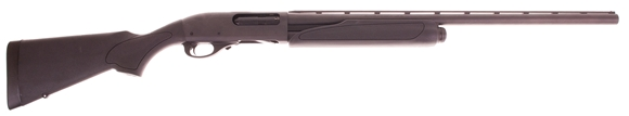 """Picture of Used Remington Model 870 Express Super Magnum Synthetic Pump Action Shotgun - 12Ga, 3-1/2"""", 28"""", Vented Rib, Matte Black, Matte Black Synthetic Stock, 3rds, Rem Choke (Modified), No Box, Never Fired, As New."""