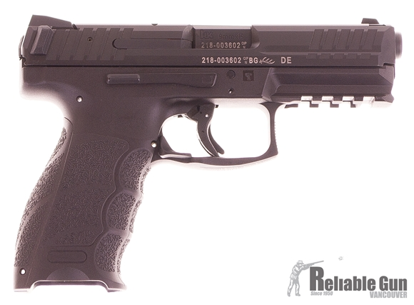 Picture of Used Heckler & Koch (H&K) SFP9-SF Striker Fired Single Action Semi-Auto Pistol - 9mm, 106mm, Polygonal Profile, Blued, Fiber-Reinforced Polymer Grip Frame, 2x10rds, Holster, Fixed Sights Excellent Condition