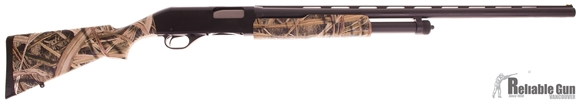 "Picture of Used Stevens 320 Field Pump-Action Shotgun - 12 Gauge, 28"" Vent Rib Barrel (M), Synthetic Stock, New In Box/ Salesman Sample"