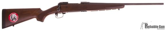 "Picture of Used Savage Model 11 Lightweight Hunter Bolt-Action Rifle - 243 Win, 20"" Matte Blued, Walnut Stock, Scratch in Stock, Otherwise Very Good Condition, With Box Unfired/ Salesman Sample"