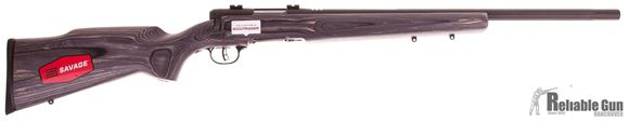 "Picture of Used Savage B Mag Bolt-Action Rifle - 17 WSM, 22"" Matte Blued Heavy Barrel, Laminate Stock, Accutrigger, Bases, New In Box/ Salesman Sample"
