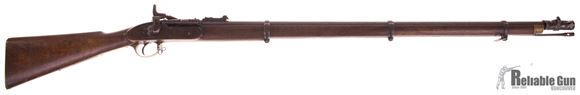 "Picture of Used Snider-Enfield Mk II ** Breech-Loading 577 Snider Blackpowder, 36.5"" Barrel, 1861 Mfg., Marked ""DC"" on Buttstock, With Bayonet, Good Condition"