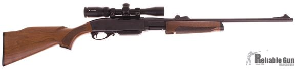 Picture of Used Remington 7600 Pump-Action 243 Win, With Vortex Crossfire 2-7x32mm Scope, One Mag, Very Good Condition
