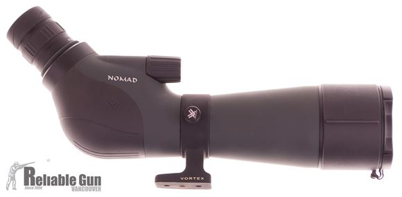 Picture of Used Vortex Nomad Spotting Scope, 20-60x60mm, Angled Eyepiece, With Soft Case, No Tripod, Good Condition