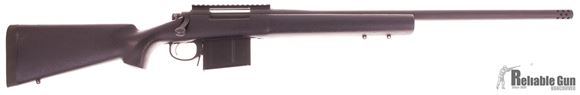"Picture of Used Remington 700 Police Bolt-Action 338 Lapua Mag, 24"" Barrel, Parkerized, With Muzzlebrake, AI Mag, Good Condition"