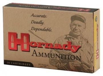 Picture of Hornady Custom Rifle Ammo - 30-06 Sprg, 220Gr, InterLock RN, 20rds Box