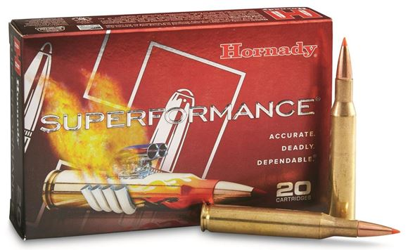 Picture of Hornady Superformance Rifle Ammo - 30-06 Sprg, 180Gr, SST Superformance, 20rds Box