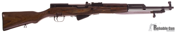 Picture of Used Simonov SKS 7.62x39 Semi Auto Rifle, Laminate Stock, Good Condition