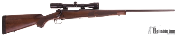 Picture of Used Winchester Model 70 Featherweight 300wsm, Bolt Action Rifle, Walnut Stock, Bushnell Elite 3-9x40 Scope, Excellent Condition