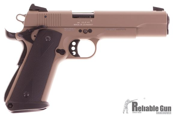 Picture of Used GSG 1911-22 Semi-Auto 22 LR, FDE, With Magwell, 2 Mags, Excellent Condition