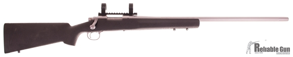 """Picture of Used Remington 700 VSF Bolt-Action 308 Win, 26"""" Fluted Heavy Barrel, Stainless, HS Precision Stock, 20 MOA Base & PRW Rings, Very Good Condition"""