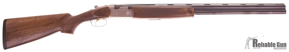 "Picture of Used Beretta 686 Silver Pigeon I Over-Under 12ga, 3"" Chamber, 28"" Barrel, 5 Chokes & Original Case, Excellent Condition"