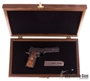 Picture of Used Wilson Combat Contemporary Classic Semi-Auto 45 ACP, #26 of 100, 100th Year Commemorative, With Wooden Display Box & Certificate of Authenticity, 2 Mags & Soft Case, As New Condition Unfired