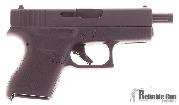 Picture of Used Glock 43 Gen4 Semi-Auto 9mm, 106mm Barrel, With 2 Mags & Original Case, Excellent Condition Never Fired