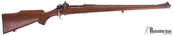 Picture of Used Remington P17 Enfield Bolt-Action 30-06 Sprg, Sporterized With Mannlicher Style Stock, Lyman Peep Sight, Good Condition