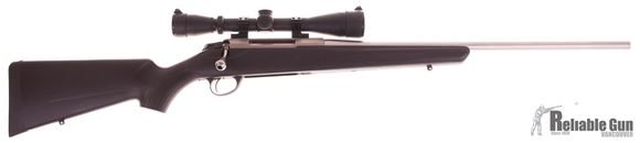 Picture of Used Tikka T3 Stainless, Bolt Action Rifle, 6.5x55, 22'' Barrel, T3X Synthetic stock, Leupold VX-1 3-9x40 Scope Talley Rings, 1 Magazine, Excellent Condition