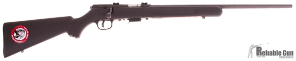 """Picture of Used Savage 93R17 Bolt-Action 17 HMR, 21"""" Barrel, Blued, No Sights, One Mag, Excellent Condition"""