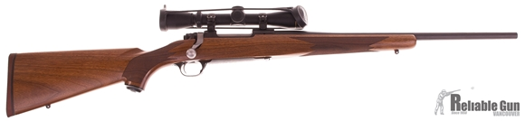 "Picture of Used Ruger M77 Hawkeye Bolt-Action 7mm-08, 20"" Barrel, Blued/Walnut, With Leupold VX1 2-7x33mm Scope, Very Good Condition"