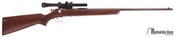 "Picture of Used Winchester 67A Bolt-Action 22 LR, 27"" Barrel, With Weaver D4 4x20mm Scope, Good Condition"