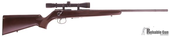 """Picture of Used Anschutz Model 1416D HB Bolt-Action 22 LR, 23"""" Heavy Barrel, With Leupold Vari-X 3-9x33mm Compact Scope, One Mag, Very Good Condition"""