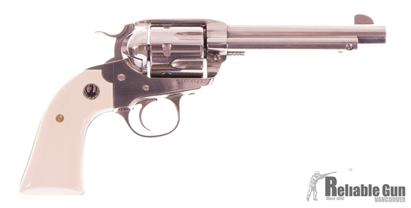 """Picture of Used Ruger Bilsey Vaquero Single-Action 357 Mag, 5.5"""" Barrel, Stainless, With Original Box, Excellent Condition"""