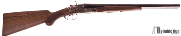 "Picture of Used Pedersoli Coach Gun Side-by-Side 12ga, 3"" Chamber, 20"" Barrel, Case Hardened Receiver, Double Triggers, Exposed Hammers, Excellent Condition"