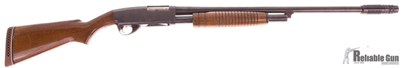 "Picture of Used Stevens Model 77B Pump-Action 12ga, 2 3/4"" Chamber, 24"" Barrel, With Poly Choke, Good Condition"