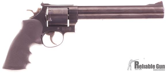 "Picture of Used Smith & Wesson Model 29-4 Classic Hunter Double-Action 44 Mag, 8 3/8"" Barrel, 1989 Vintage, Unfluted Cylinder, Very Good Condition"