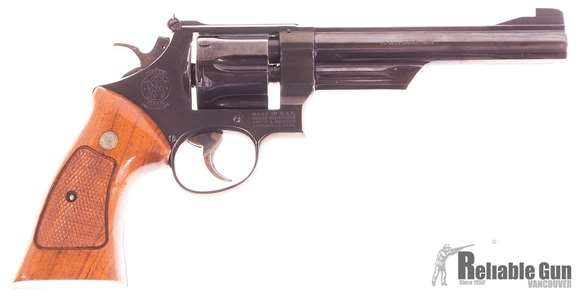 "Picture of Used Smith & Wesson Model 25-2 Double-Action 45 ACP, 6.5"" Barrel, 1979/80 Vintage, Very Good Condition"