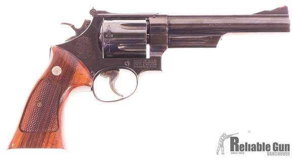 """Picture of Used Smith & Wesson Model 29-2 Double-Action 44 mag, 6"""" Barrel, 1979/80 Vintage, Very Good Condition"""