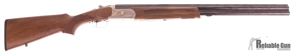 """Picture of Used Brixia Dodici Over-Under 12ga, 3"""" Chamber, 28"""" Vent Rib Barrel, 5 Chokes, Wood Stock, Very Good Condition"""